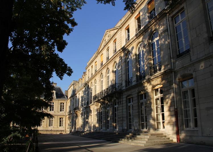Visite Hôtel De Vendôme, Jardin Et Musée Mines Paristech à Paris 5ème