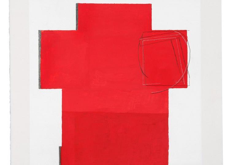 Visite Inaugurale De L'exposition Les Degrés Du Silence, Peintures D'anna Mark à Evreux