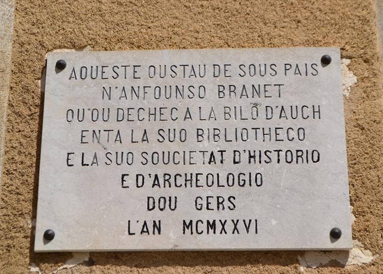 Visite Libre Société Archéologique, Historique, Littéraire Et Scientifique Du Gers à Auch