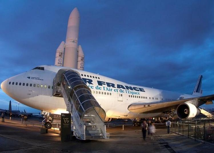 Visite Libre : Concorde, Boeing 747, Dakota à Le Bourget