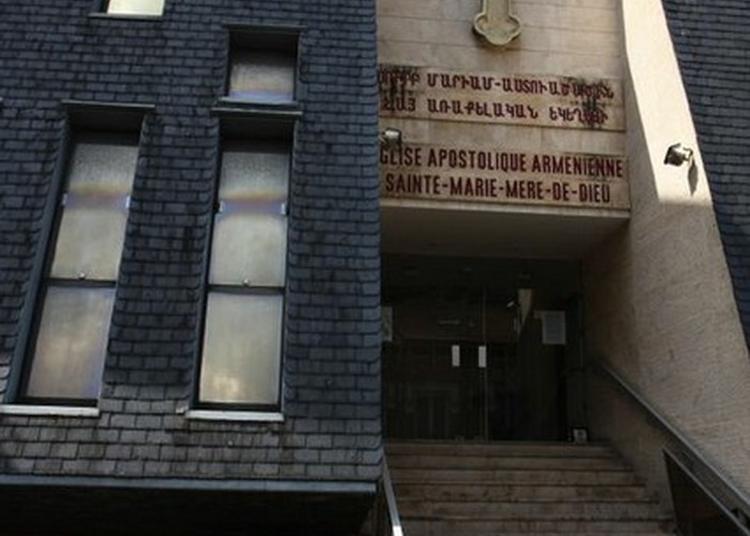 Visite Libre De L'église Apostolique Arménienne Sainte Marie Mère De Dieu à Issy les Moulineaux