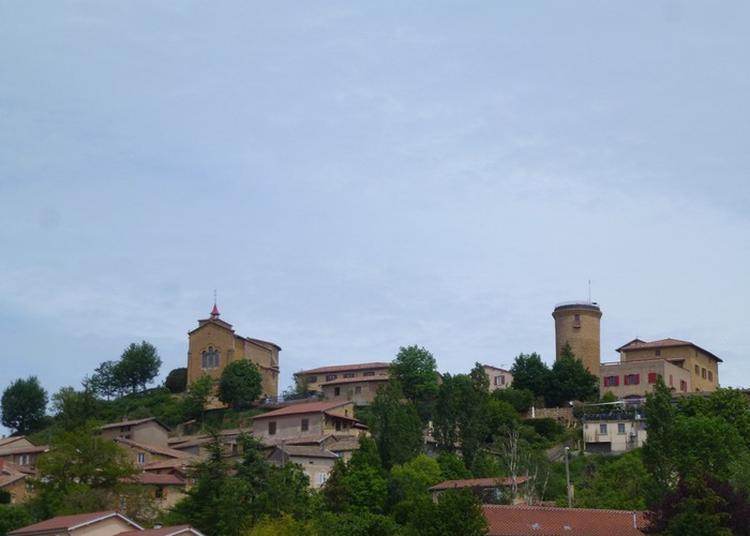 Visite Libre De L'église Médiévale Du Village à Oingt