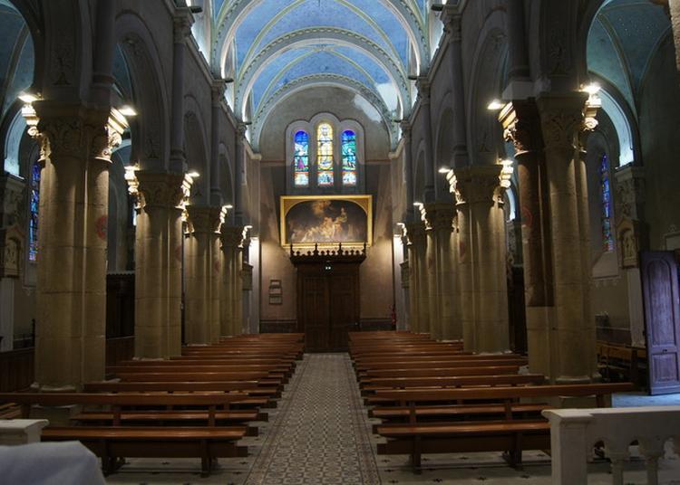 Visite Libre De L'église Notre-dame D'eyzin-pinet à Eyzin Pinet