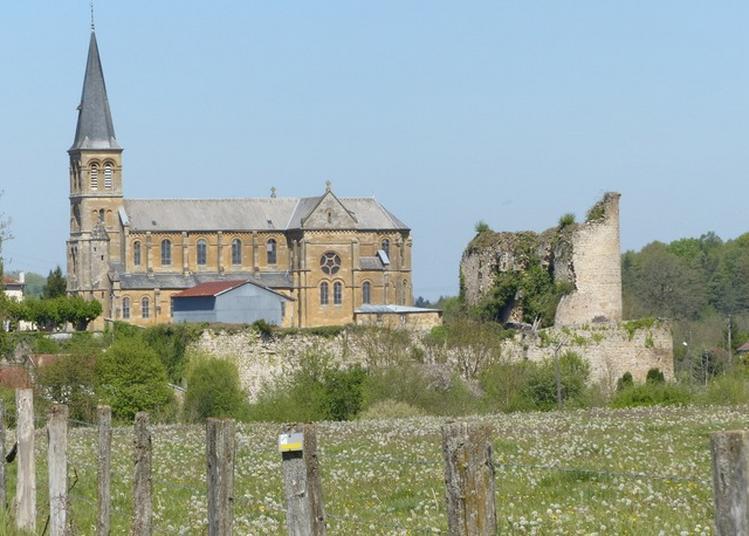 Visite Libre De L'église Saint-martin Et Des Ruines Du Château Fort à Louppy sur Loison