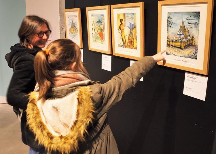 Visite Libre De L'exposition Temporaire Le Mont Saint-michel. A La Manière D'eux.... Peintures De François Jouas-poutrel à Avranches