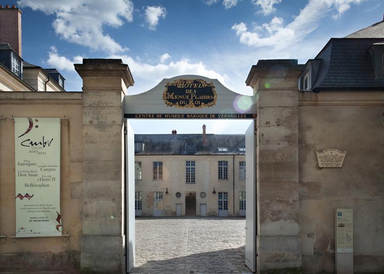 Visite Libre De L'hôtel Des Menus-plaisirs à Versailles