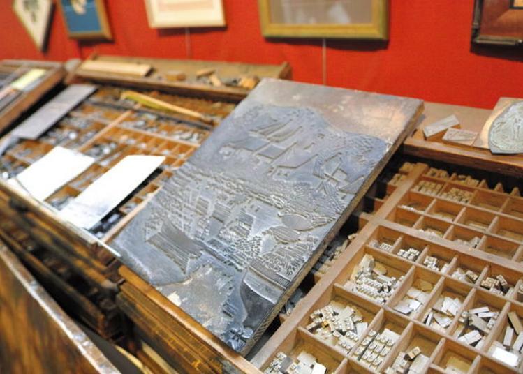 Visite Libre De L'imprimerie D'art Des Montquartiers à Issy les Moulineaux