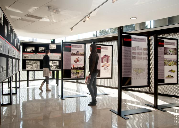 Visite Libre De L/oblique, L'espace D'exposition Permanent Dédié à L'histoire Et L'actualité De La Cité Internationale à Paris 14ème