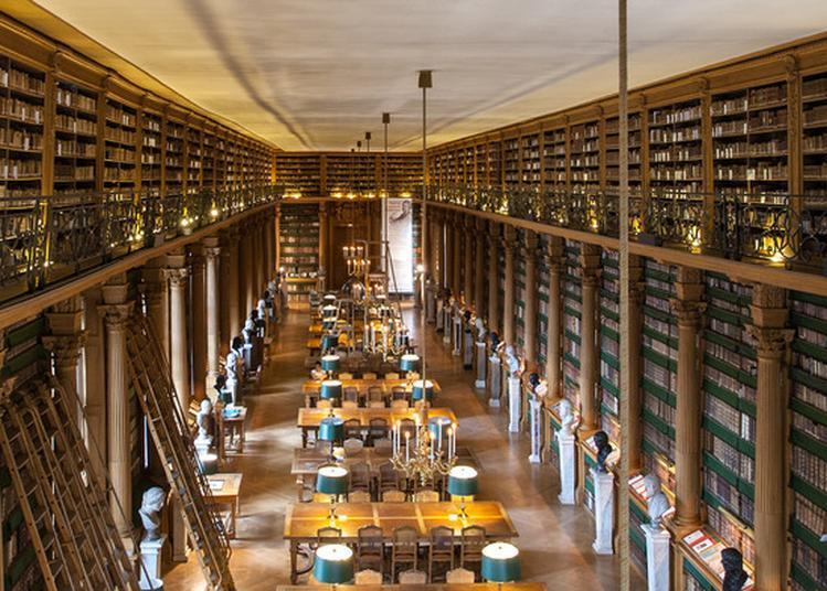 Visite Libre De La Bibliothèque Mazarine à Paris 6ème