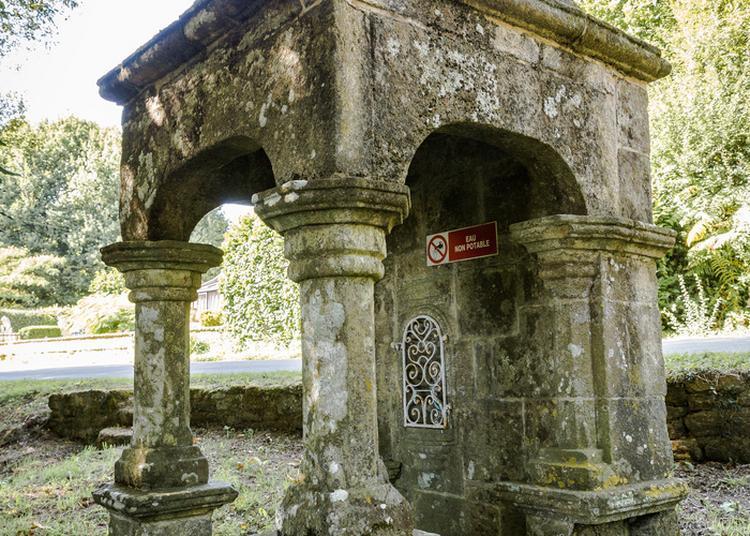 Visite Libre De La Fontaine Sainte-marie à Le Guerno