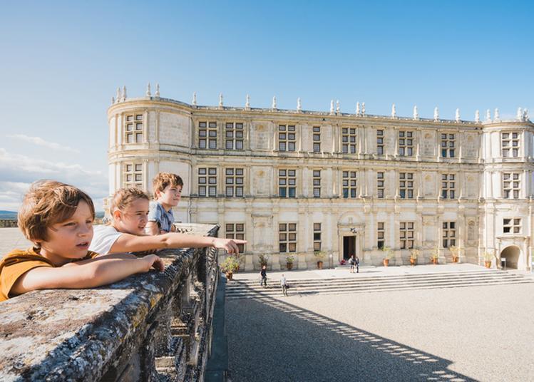 Visite Libre Des Extérieurs Du Château De Grignan