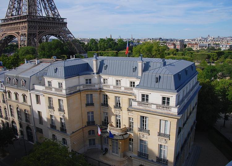 Visite Libre Des Salles Et Du Jardin De L'ambassade à Paris 7ème