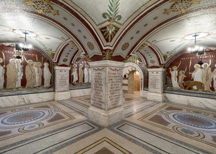 Visite Libre Du Cachot De Saint Pothin Et De La Crypte Des Mosaïques De L'antiquaille à Lyon