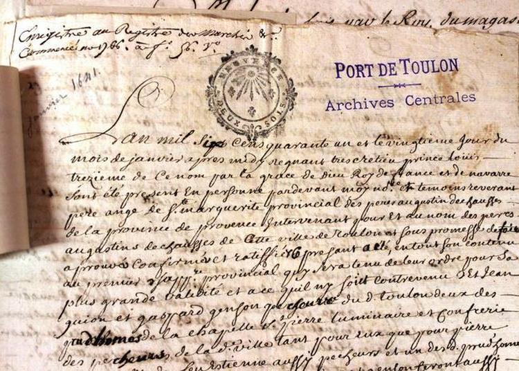Visite Libre Du Service Historique De La Défense à Toulon