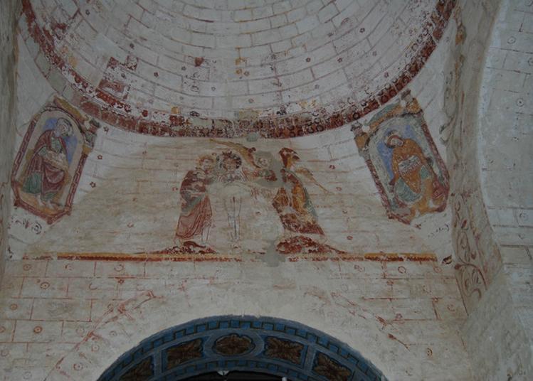 Visite Libre Et Visites Commentées à L'eglise Romane Notre Dame à Melay