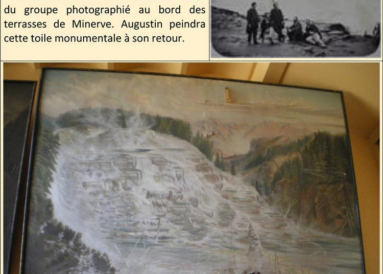 Visite Libre, Visite Commentée De L'exposition à Varagnes Le Voyage D'augustin Seguin Aux États-unis En 1880. à Annonay