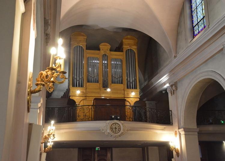 Visite Musicale Autour De L'orgue Abbey Restauré Et Agrandi à Asnieres sur Seine