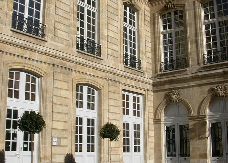 Visite Partielle De L'hôtel Leberthon - Crédit Municipal De Bordeaux