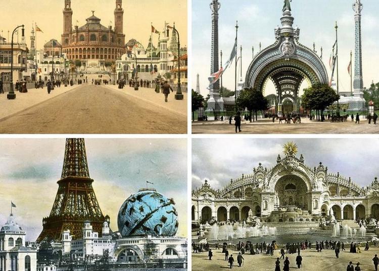 Visite Stéréoscopique Du Paris 1900