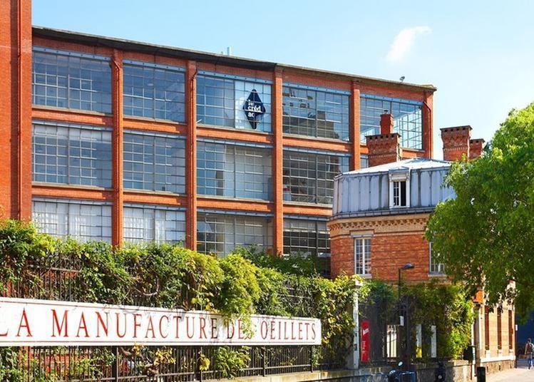 Visite Sur L'histoire De La Manufacture Des Oeillets Et De L'exposition De Sarah Tritz. à Ivry sur Seine