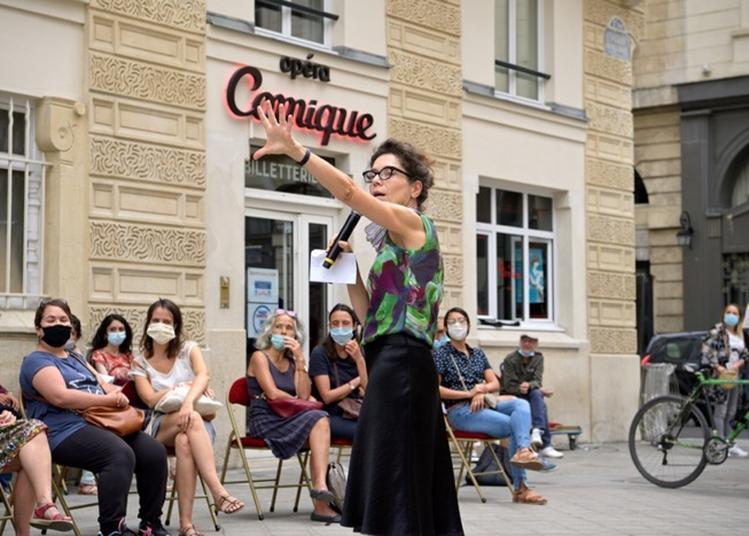 Visite Verticale Depuis La Place Boieldieu à Paris 2ème