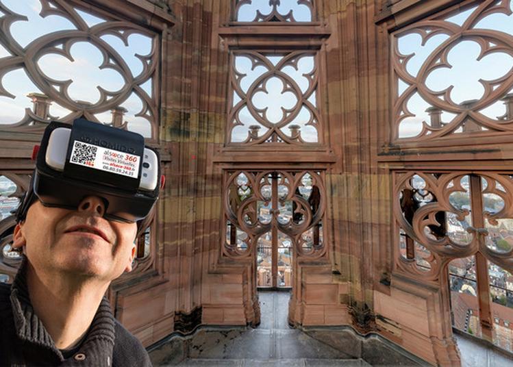Visite Virtuelle À 360° De La Cathédrale à Strasbourg