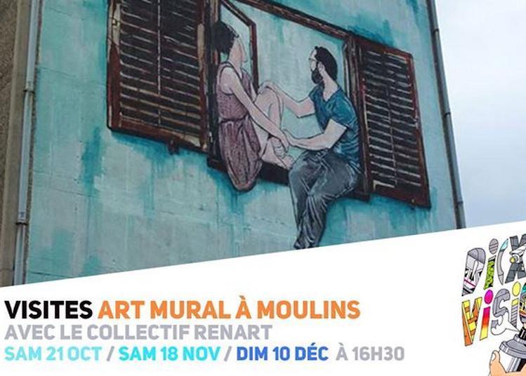 Visites Art Mural à Moulins / #Di(x)visions à Lille