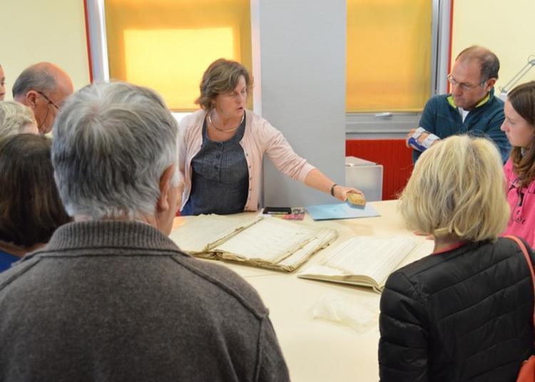 Visites Commentées Des Archives Départementales De Saône-et-loire à Macon