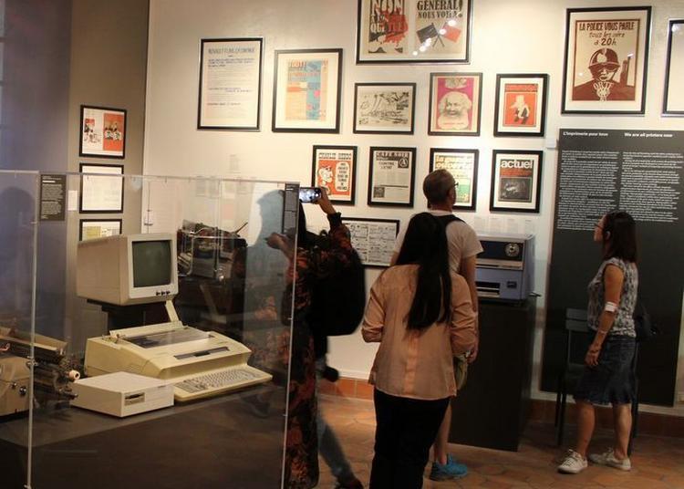Visites Commentées Des Espaces D'exposition Permanente Du Musée De L'imprimerie à Lyon