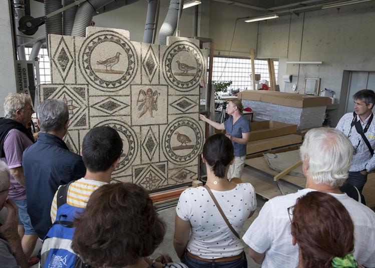 Visites De L'atelier De Restauration De Mosaïques Et D'enduits Peints Du Musée à Saint Romain en Gal