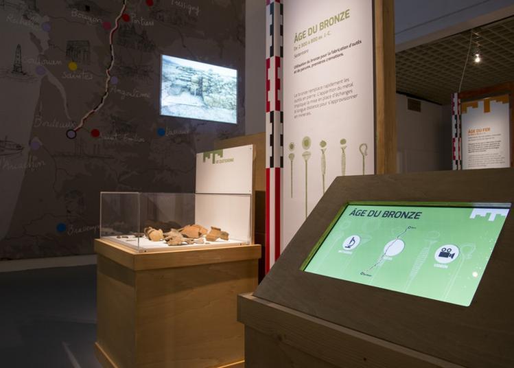 Visites De L'exposition Temporaire L'archéologie À Grande Vitesse à Bordeaux