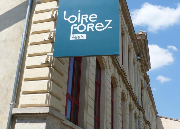Visites De L'hôtel D'agglomération Et Médiathèque à Montbrison