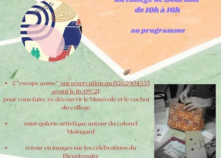 Visites Et Escape Game Au Collège De Bourbon à Saint Denis
