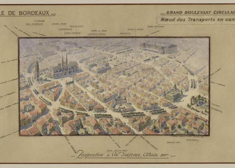 Visites Guidées  Bordeaux Visions D'avenir - Une Vue En 1930