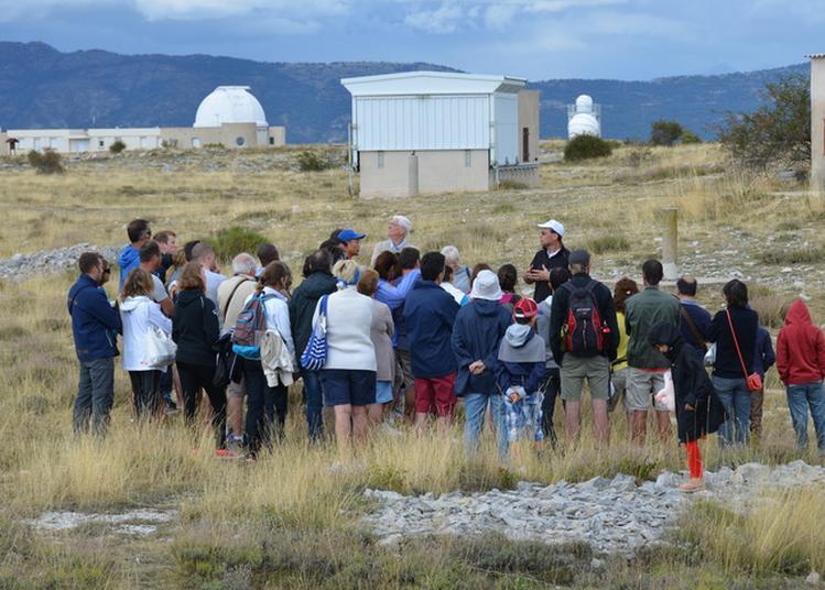 Visites Guidées Du Site D'observation Du Plateau De Calern à Caussols