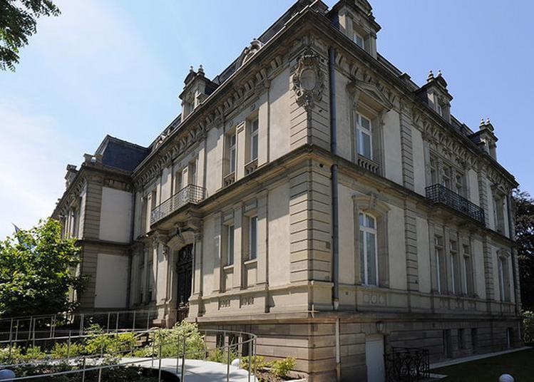 Visites «coup De Projecteur» Sur L'architecture De La Villa Greiner Et Introduction Au Musée à Strasbourg