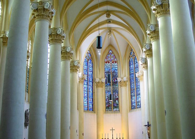 Visitez Librement Cette église Au Style Architectural éclectique à Metz