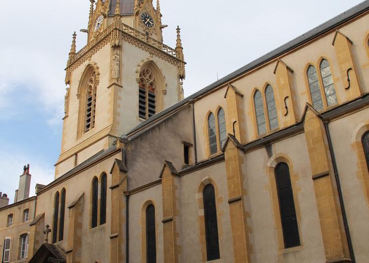 Visitez Librement Une Église Mêlant Style Roman Et Style Gothique. à Metz