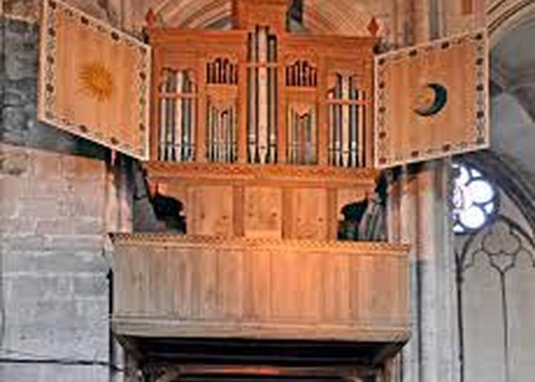 Viste De L'orgue De L'ancienne Collégiale De Saint-julien-du-sault à Saint Julien du Sault