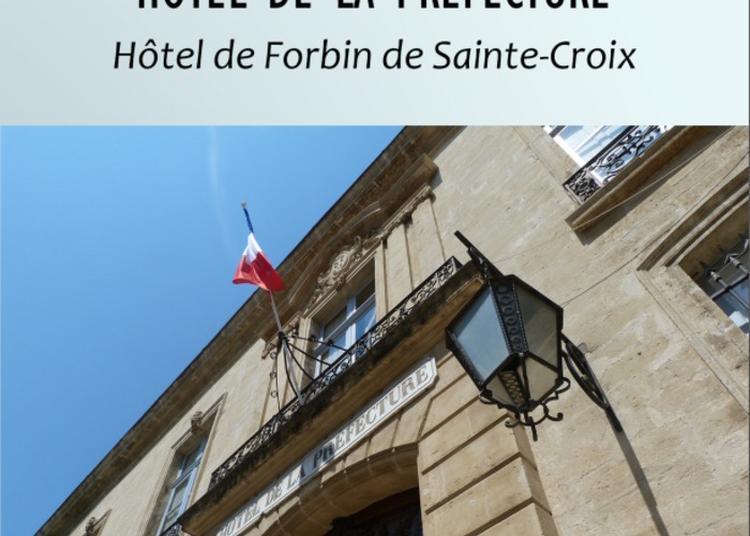Viste Guidée Hôtel De La Préfecture à Avignon