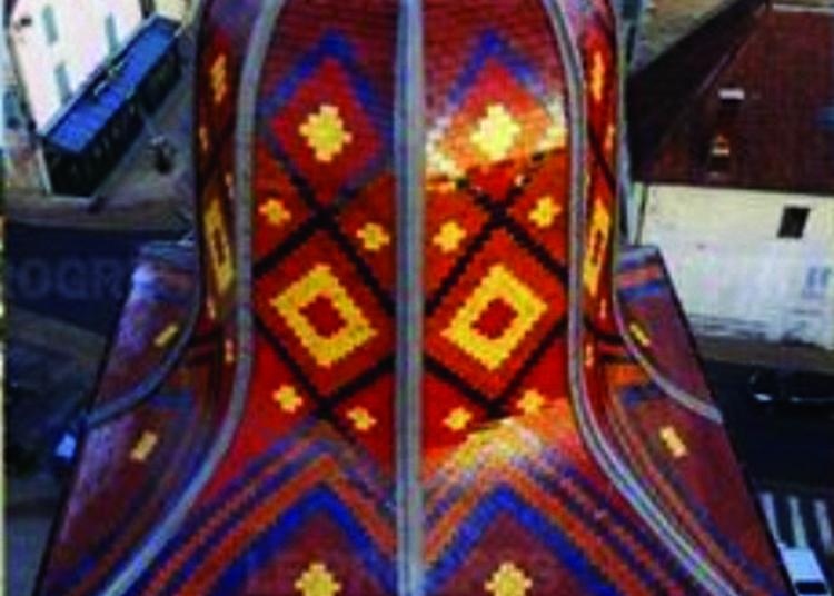 Viste Historique De L'intérieur Et De L'extérieur De L'église De Clairvaux à Clairvaux les Lacs