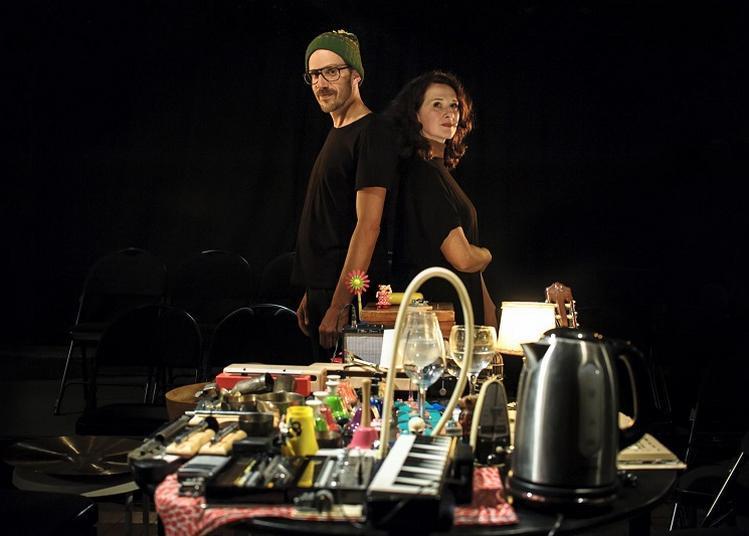 Claire Diterzi et Stephane Garin - Concert à table à Landivisiau