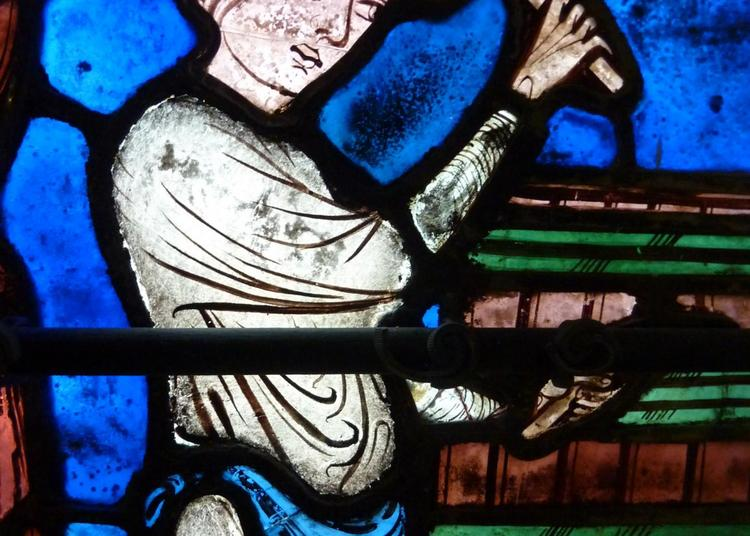 Vitraux Grand Format - Vitrail De St Eustache - Partie Ii à Chartres