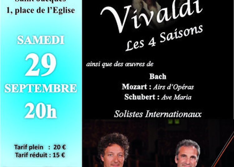 Vivaldi, les 4 Saisons à Chatillon