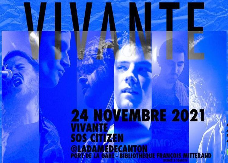 Vivante + Sos Citizen à Paris 13ème