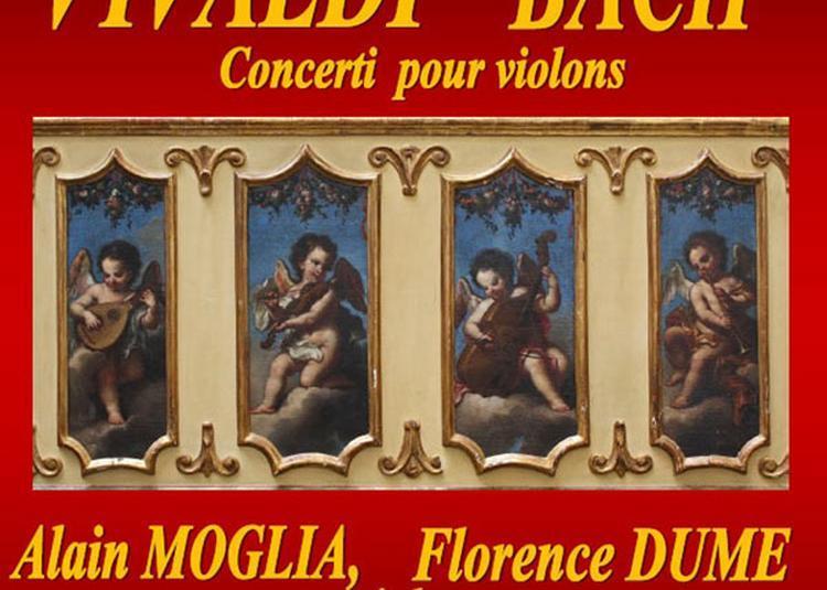 Vivialdi Bach Concerti Pour Violons à Nimes