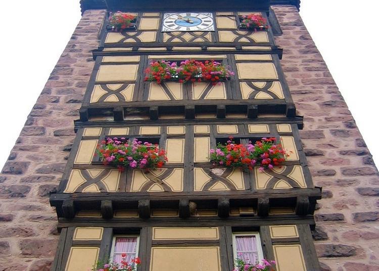 Vivre Le Moyen Âge  En Visitant Le Dolder à Riquewihr
