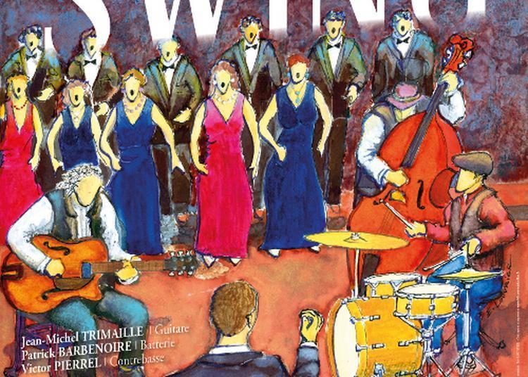 Vocalia et son programme swing au théâtre du lavoir à Pontarlier