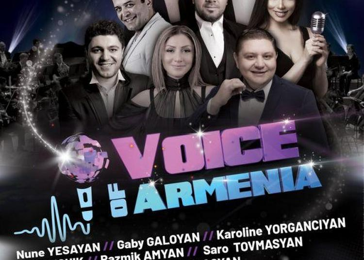 Voice Of Armenia à Paris 8ème
