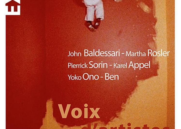 Voix D'artistes Avec Le Centre Pompidou à Saint Riquier